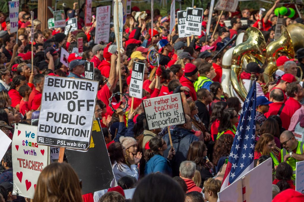 2019 Downtown Strike Protest